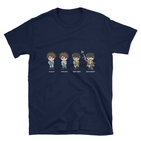 Four Quandrums RimWorld T-Shirt Navy