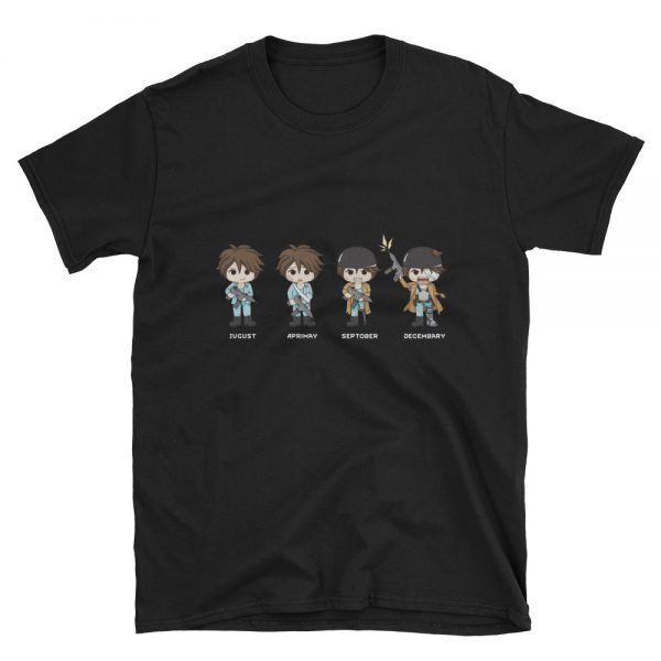 Four Quandrums RimWorld T-Shirt Black