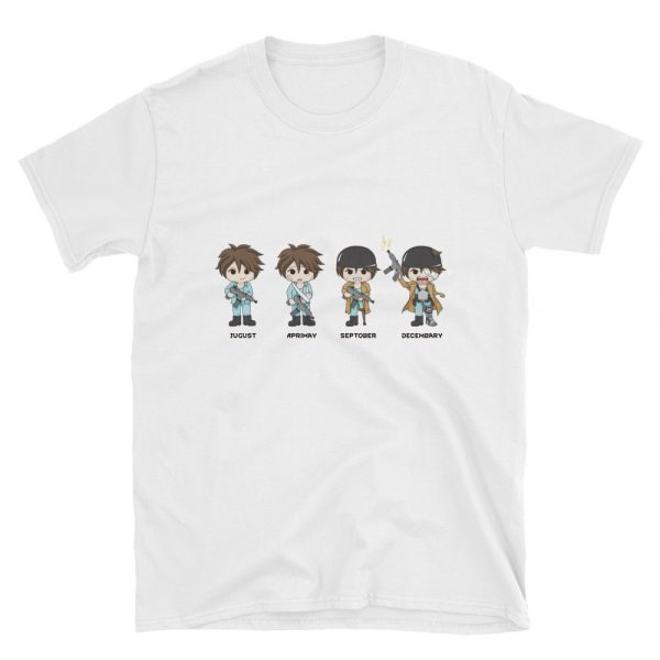 Four Quandrums RimWorld T-Shirt White